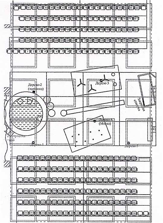 Общий план сцены и зала.